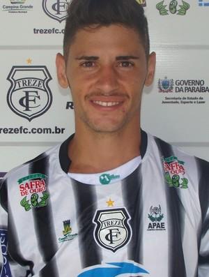 David Modesto, lateral-direito do Treze (Foto: Divulgação / Treze)