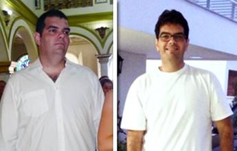 Após o nascimento da filha, Eduardo volta a fazer exercícios e perde 38kg