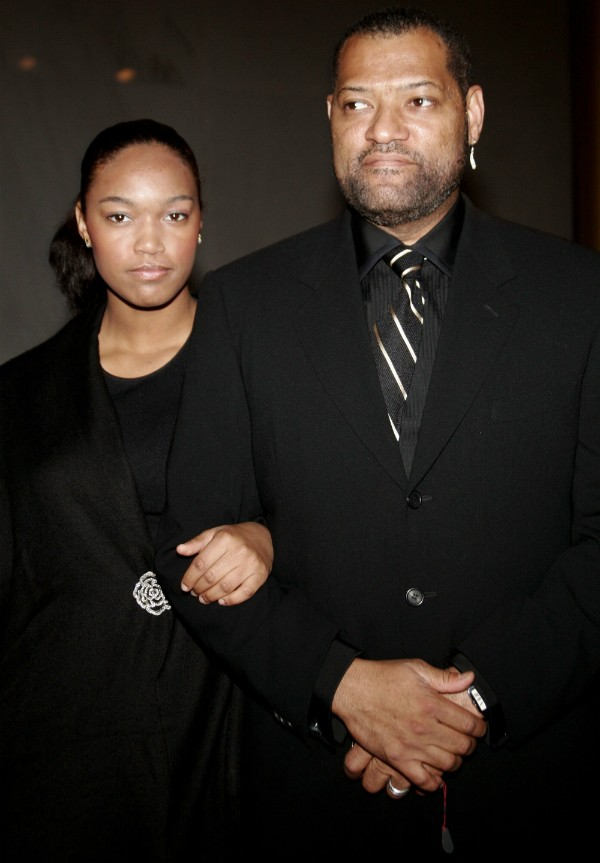 Laurence Fishburne e Montana Fishburne (Foto: Getty Images)