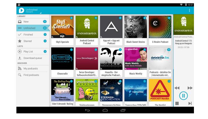 uPod é um aplicativo para ouvir podcast para Android (Foto: Divulgação)