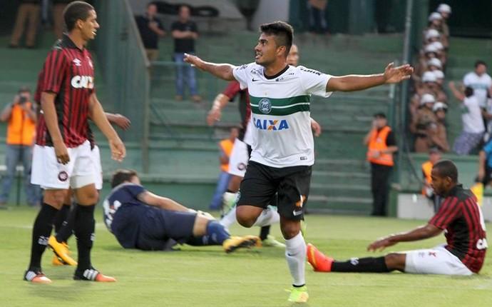 alan santos coritiba atletiba (Foto: Divulgação/Coritiba)