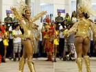 Haja coração! Beldades mostram bumbuns perfeitos no primeiro dia de desfiles do grupo especial do Rio