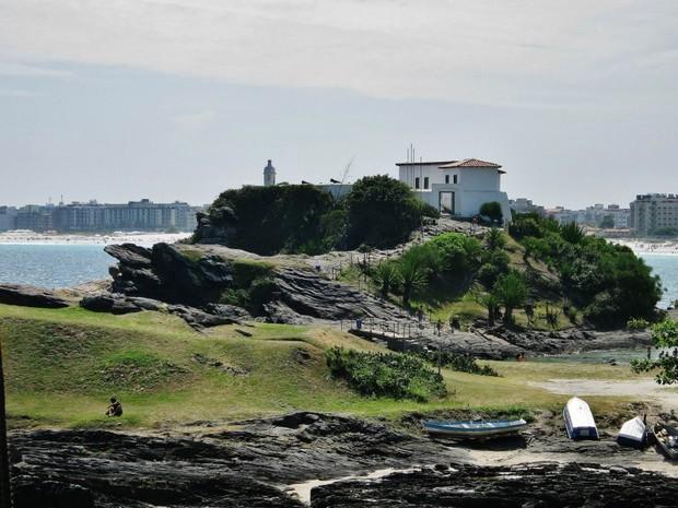 Forte São Mateus fez parte da defesa da cidade na época de colonização (Foto: Guto Araripe)