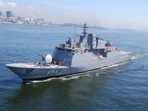 """A corveta """"Barroso"""" é um dos meios navais que serão exposto no Porto de Vitória (Foto: Divulgação/ Capitania dos Portos do Espírito Santo)"""