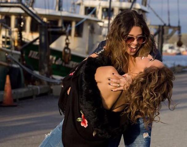 Daniela Mercury e Malu Verçosa (Foto: Reprodução)