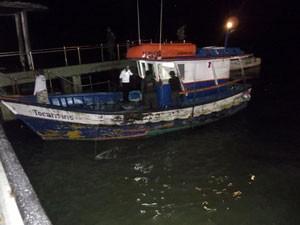 Polícia apreende quase meia tonelada de pescado em Porto Seguro, na BA (Foto: Divulgação/ Fiscalização Ambiental de Porto Seguro)