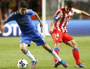 Oscar Chelsea Atlético de Madri (Foto: Reuters)