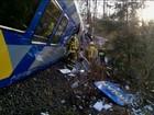 Colisão de trens na Alemanha deixa mortos e feridos