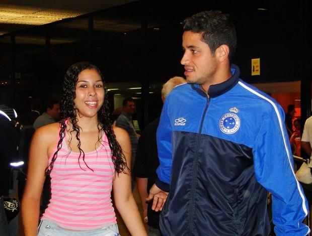 Léo Cruzeiro (Foto: Ana Paula Moreira / Globoesporte.com)