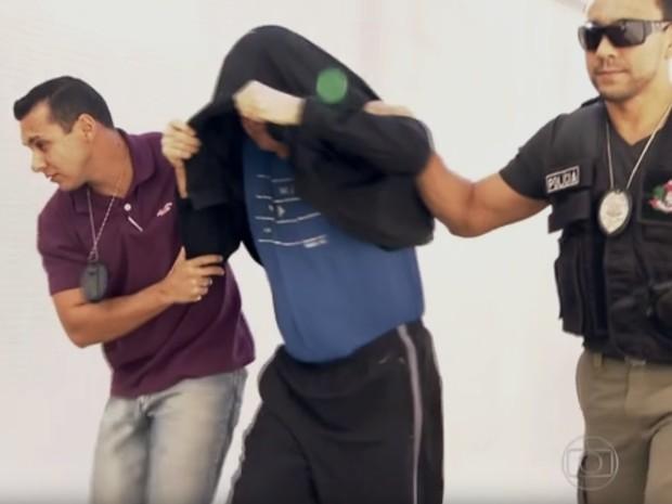 Ex-funcionário da Secretaria da Fazenda é preso em agosto (Foto: Reprodução/TV Globo)
