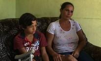 Alagoano aguarda tratamento médico para tratar doença congênita na perna (Reprodução/TV Gazeta)