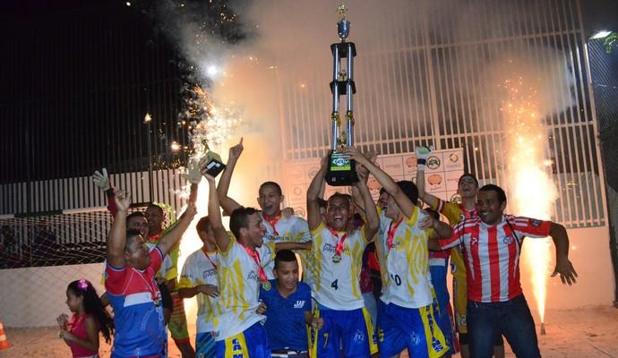 Arsenal venceu Copa Estrela de Beach Socces (Foto: Divulgação/Emanuel Mendes)