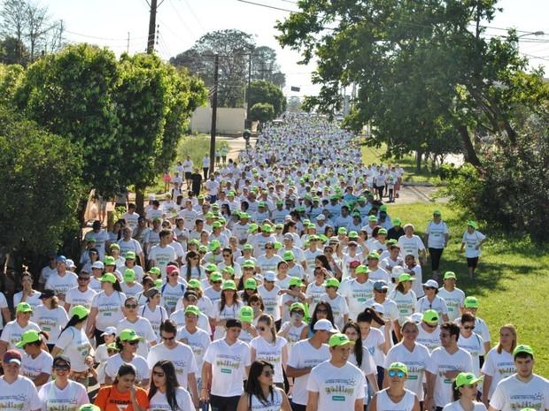 3ª Edição da Caminhada Regional Unimed De Bem com a Vida, em Assis (Foto: Divulgação)