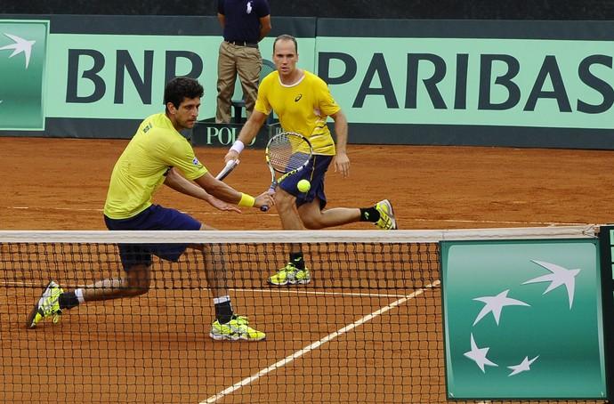 tenis marcelo melo bruno soares equador brasil copa davis (Foto: AFP)