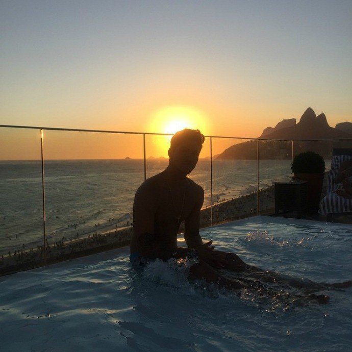 Gabriel Medina Rio de Janeiro (Foto: Reprodução / Instagram)