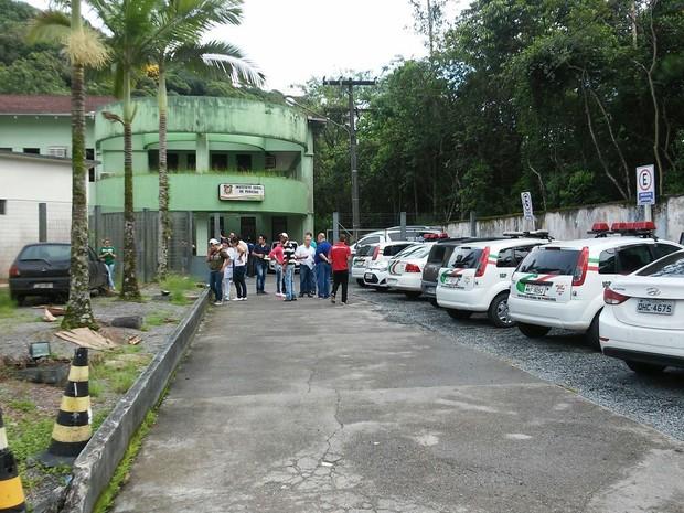 IML JOINVILLE (Foto: PRECILA RIBEIRO)