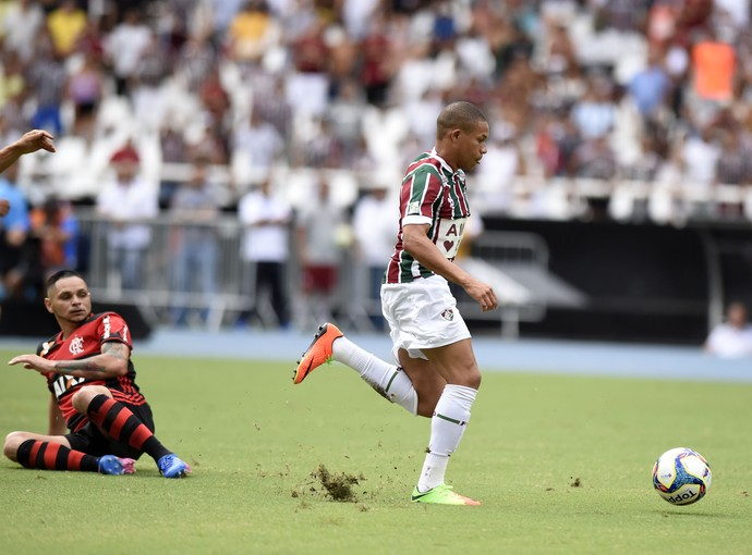 Wellington Silva Pará Fluminense x Flamengo (Foto: André Durão)