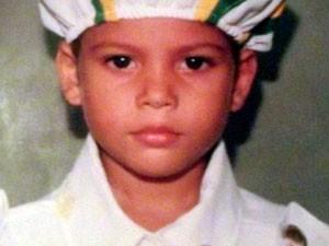 Cleyton Osório, de 10 anos, estava perto de casa quando foi baleado em Macaíba, Grande Natal (Foto: Arquivo de família/Reprodução Conecttv)