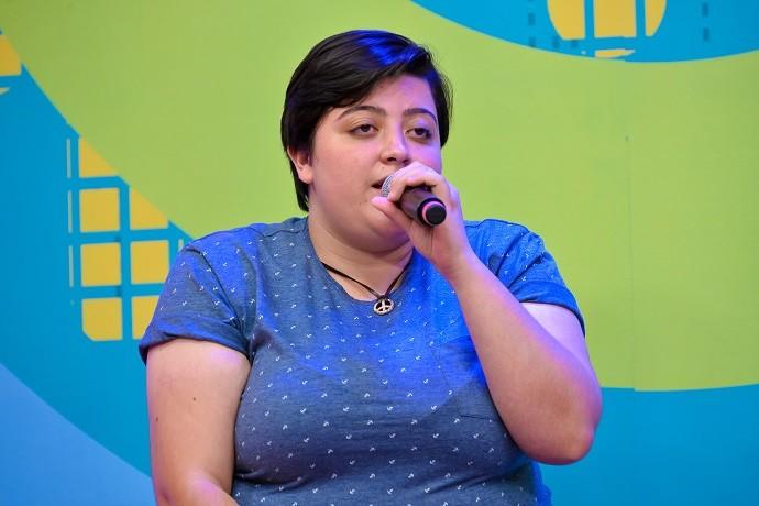 """O vídeo em que Ana canta """"Trem-Bala"""" já alcançou mais de 4 milhões de visualizações na internet (Foto: Priscilla Fiedler/RPC)"""