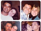 Tnel do tempo: David Brazil posta fotos antigas com Giovanna Antonelli