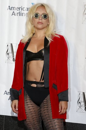 Lady Gaga em evento em Nova York, nos Estados Unidos (Foto: Shannon Stapleton/ Reuters)