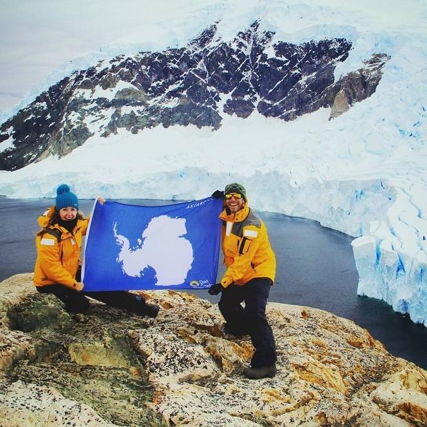 Antártica (Foto: Reprodução/Instagram)