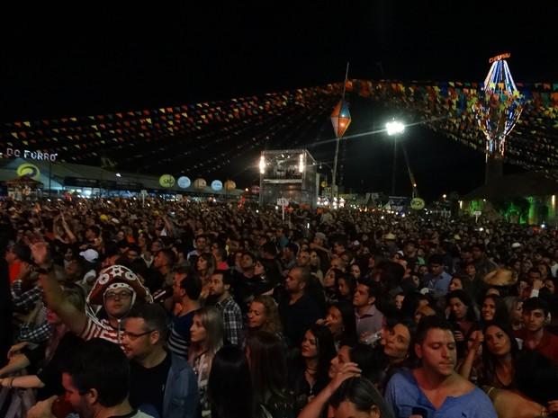 noite de são joão em caruaru 2016 (Foto: Lafaete Vaz/G1)