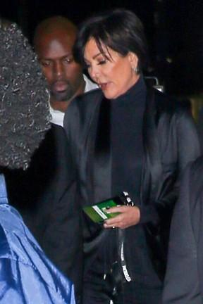 Kris Jenner em show em Los Angeles, nos Estados Unidos (Foto: AKM-GSI/ Agência)