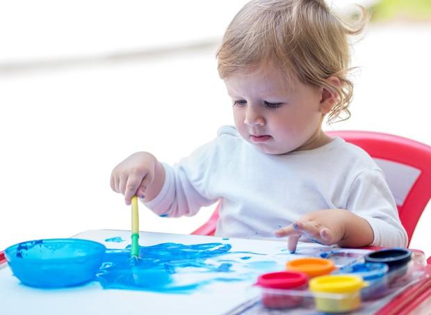 A importância da pintura para as crianças (Foto: ThinkStock)