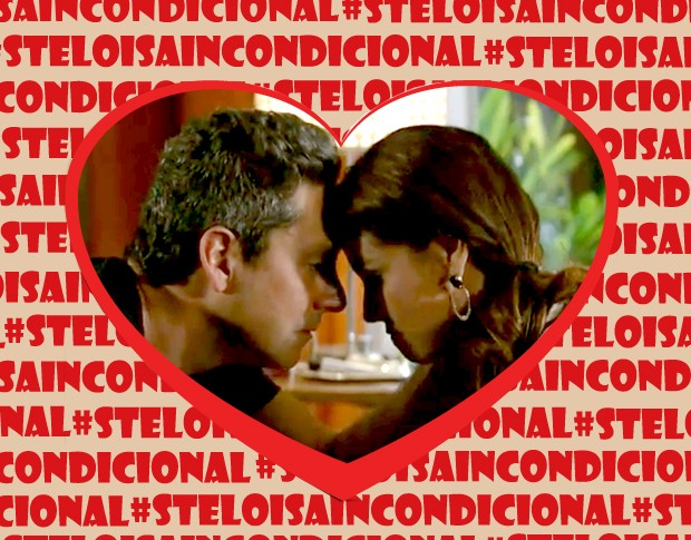 Stênio e Heloisa: casal mais amado (Foto: Salve Jorge / TV Globo)