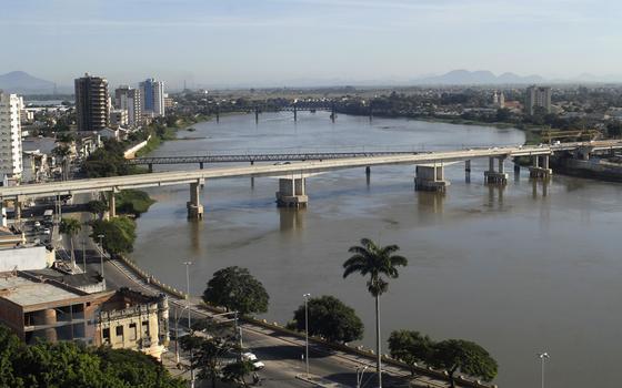 Rio Paraiba do Sul em Campos dos Goytacazes Local: Campos dos Goytacazes RJ Brasil (Foto:  Ricardo Azoury/Pulsar)