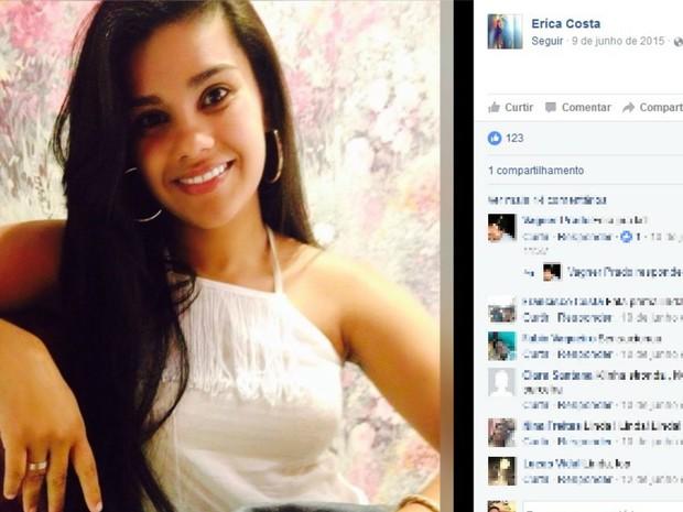 Vítima tem 22 anos e morava em Vitória da Conquista (Foto: Reprodução / Facebook)