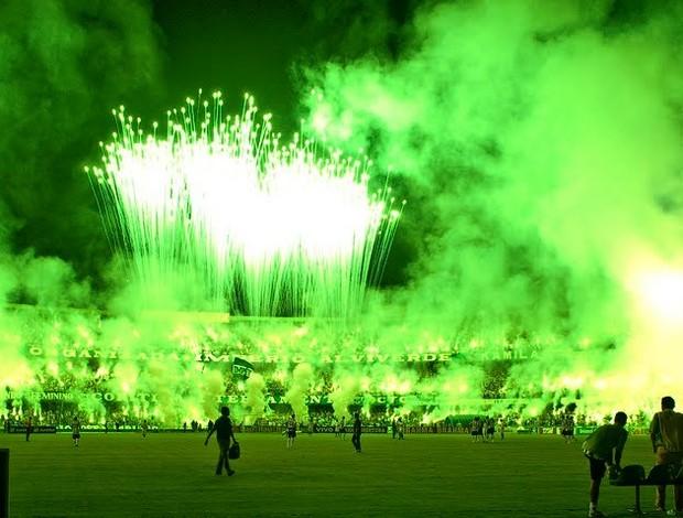 Green Hell da torcida do Coritiba (Foto: André Raittz/Divulgação)