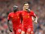 Coutinho faz belo gol, dá assistência, e Liverpool pula para o G-4 com vitória