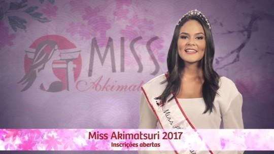 Estão abertas as inscrições para 8º Concurso Miss Akimatsuri