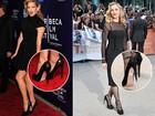 Madonna, Gwyneth Paltrow e outras esquecem etiquetas nos sapatos