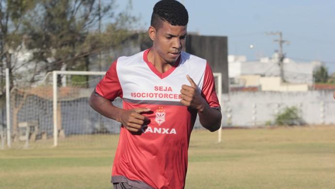 Welton Heleno, volante do Sergipe (Foto: Osmar Rios / GloboEsporte.com)