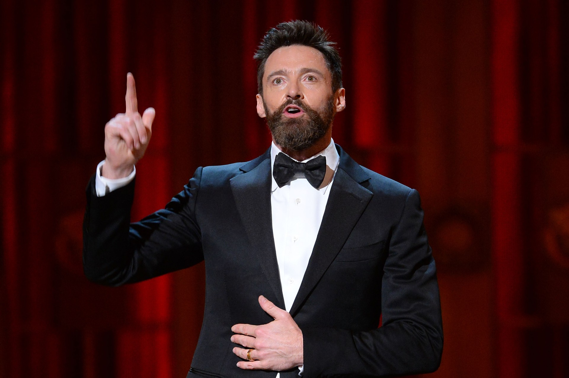 """O ator, conhecido pelo seu papel como Wolverine na franquia de 'X-Men', passou por duas cirurgias para remover o câncer de pele no nariz e acredita que ainda passará por outras. """"Sou realista quanto ao futuro e é provável que eu me submeta a, pelo menos,  (Foto: Getty Images)"""
