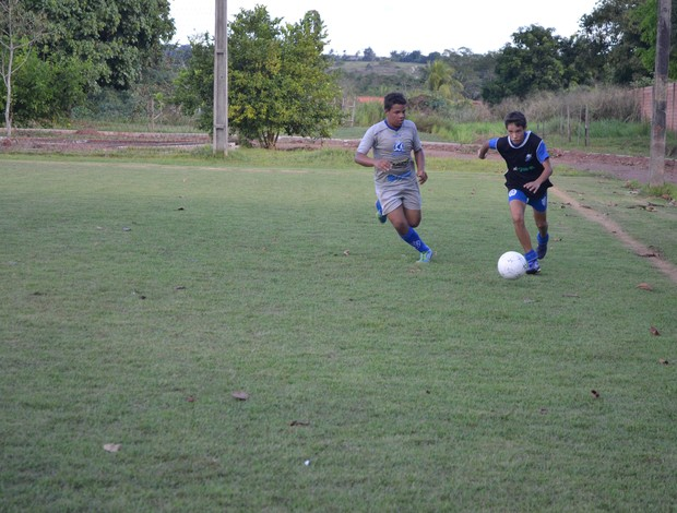 Rodrigo Graciano, de 13 anos, foi o único escolhido pelo Avaí  (Foto: Magda Oliveira)