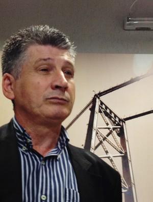 Nereu Martinelli, presidente do Joinville (Foto: João Lucas Cardoso / globoesporte.com)