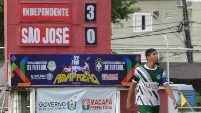 independente, sub-20; amapa (Foto: Rosivaldo Nascimento)