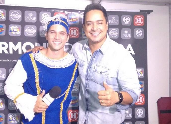 Se Joga na festa à fantasia com Brucce Cabral (Foto: Reprodução / TV Sergipe)