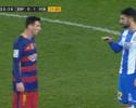 """Chamado de baixinho por rival, Messi responde: """"E você é muito ruim"""""""