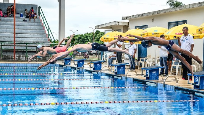 Quatro clubes nas raias; evento avalia atletas para competições nacionais (Foto: Divulgação/SEMUC)