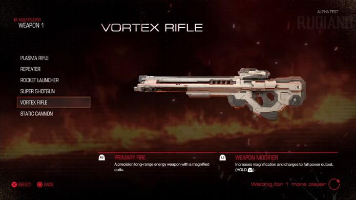 O Vortex Rifle traz o tradicional rifle sniper para o universo do novo Doom (Foto: Reprodução/GameSpot)