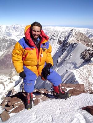 alpinista Rodrigo Raineri (Foto: Arquivo Pessoal)