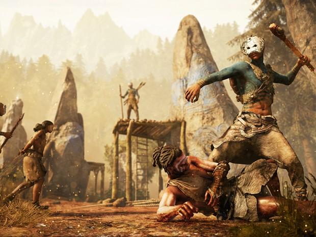 'Far Cry Primal' leva série de tiro em mundo aberto para a pré-história (Foto: Divulgação/Ubisoft)