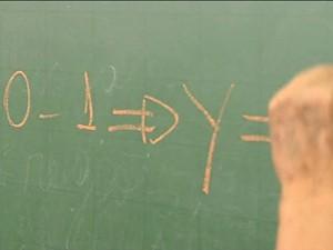 Sala de Emprego - Matemática (Foto: TV Globo)