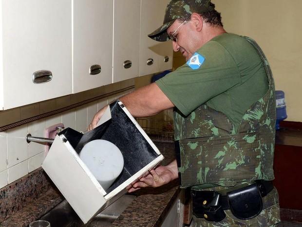 Exército ajuda em mutirão contra a dengue em Limeira (Foto: Wagner Morente/ Prefeitura de Limeira)