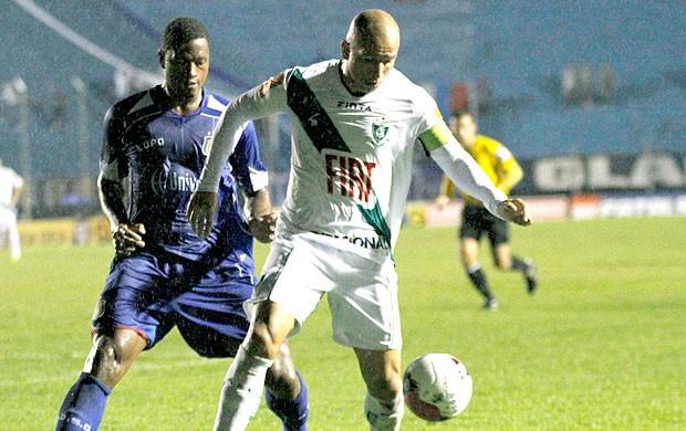 Fábio Junior na partida do América-Mg contra o São Caetano (Foto: Ale Vianna / Ag. Estado)